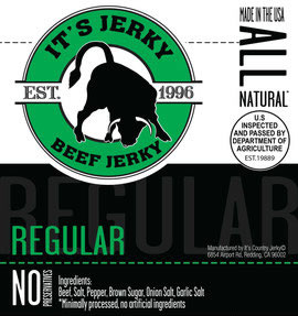 It's Jerky Regular Flavored